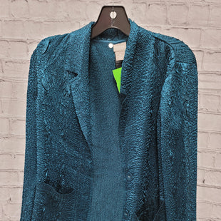 Primary Photo - BRAND: CHICOS STYLE: SWEATER CARDIGAN LIGHTWEIGHT COLOR: TEAL SIZE: S SKU: 115-115360-1145