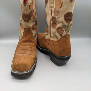 Primary Photo - BRAND: ARIAT STYLE: BOOTS KNEE COLOR: BROWN SIZE: 8 OTHER INFO: FLORAL GREAT CONDITON SKU: 115-115314-10159