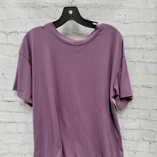Primary Photo - BRAND:    CLOTHES MENTOR STYLE: TOP SHORT SLEEVE COLOR: PURPLE SIZE: 3X OTHER INFO: FROCK FASHION - SKU: 115-115340-1734