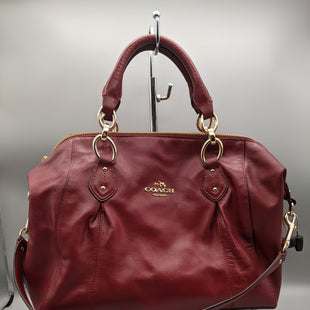Primary Photo - BRAND: COACH STYLE: HANDBAG COLOR: MAROON SIZE: MEDIUM SKU: 115-115302-17230DUSTBAG HAS STAINS