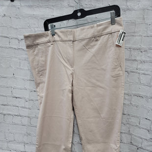 Primary Photo - BRAND: LOFT STYLE: CAPRIS COLOR: TAN SIZE: 12 SKU: 115-115338-3191