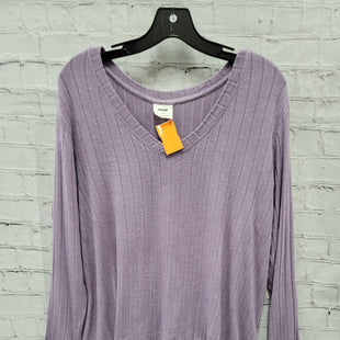 Primary Photo - BRAND:    CLOTHES MENTOR STYLE: TOP LONG SLEEVE COLOR: PURPLE SIZE: L OTHER INFO: MOTE - SKU: 115-115336-4872