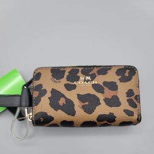 Primary Photo - BRAND: COACH STYLE: WALLET COLOR: LEOPARD PRINT SIZE: SMALL SKU: 115-115257-30493
