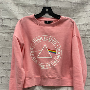 Primary Photo - BRAND:    CLOTHES MENTOR STYLE: SWEATER LIGHTWEIGHT COLOR: PINK SIZE: L OTHER INFO: PINK FLOYD - SOME PILLING SHOWN IN LAST PICTURE SKU: 115-115336-4468