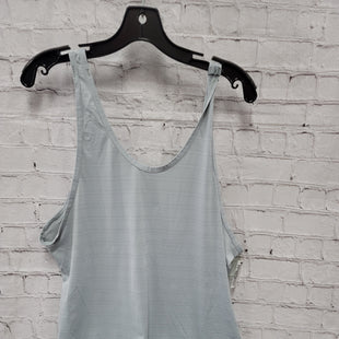 Primary Photo - BRAND: ATHLETA STYLE: ATHLETIC TANK TOP COLOR: GREY WHITE SIZE: XL SKU: 115-11545-100747