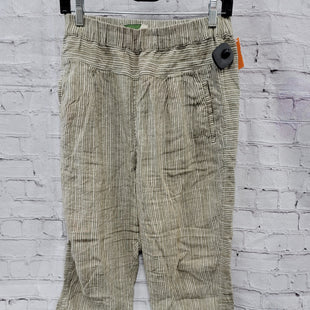 Primary Photo - BRAND: ANTHROPOLOGIE STYLE: PANTS COLOR: OLIVE SIZE: M OTHER INFO: STRIPES SKU: 115-115309-20860