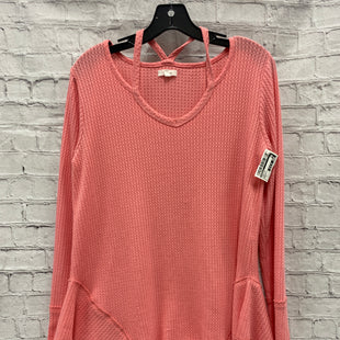 Primary Photo - BRAND: MAURICES STYLE: TUNIC LONG SLEEVE COLOR: LIGHT PINK SIZE: M OTHER INFO: WAFFLED SKU: 115-115302-18664