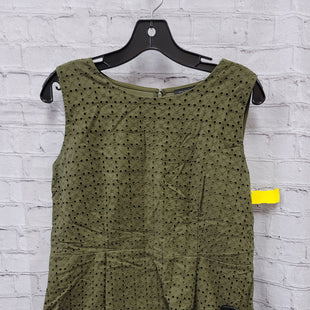 Primary Photo - BRAND: ANN TAYLOR STYLE: TOP SLEEVELESS COLOR: GREEN SIZE: L SKU: 115-115314-7804