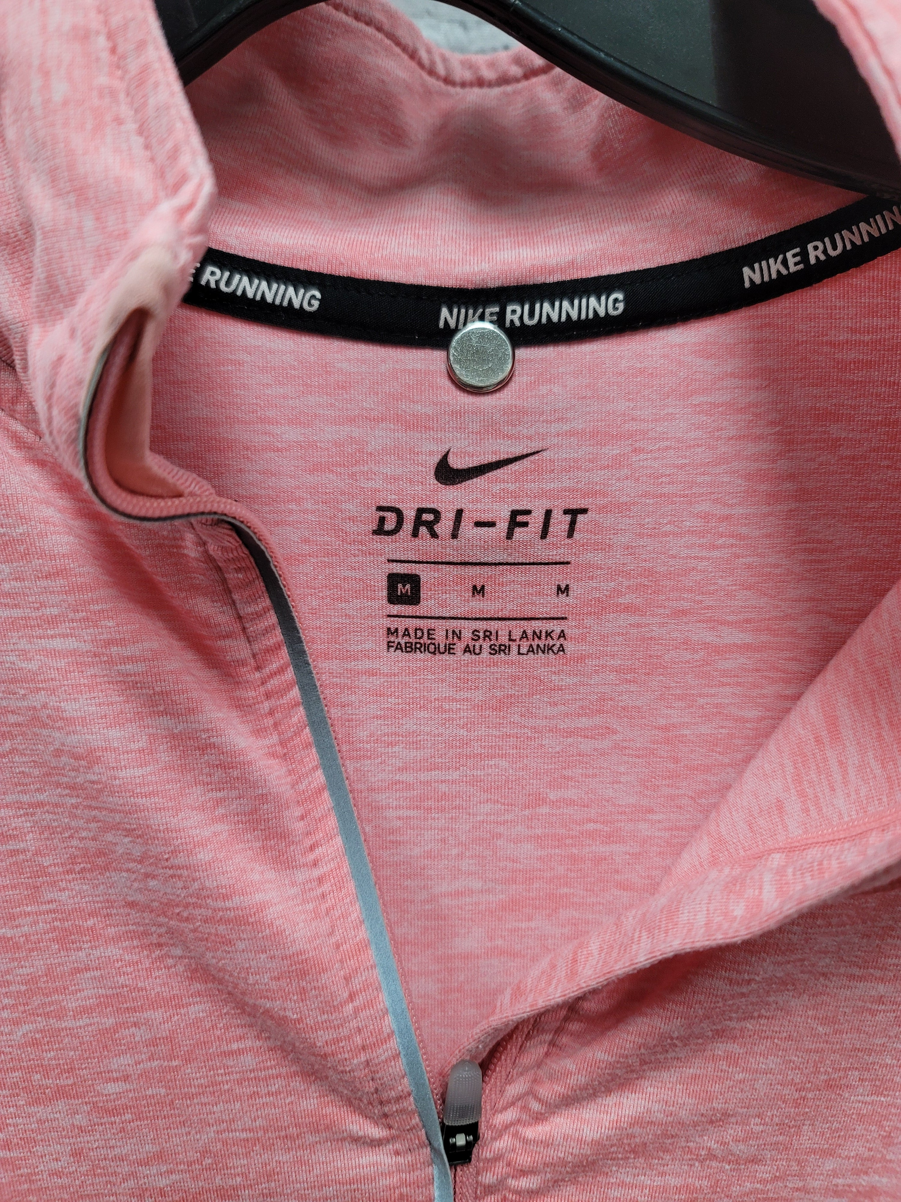 Photo #2 - BRAND: NIKE <BR>STYLE: ATHLETIC TOP <BR>COLOR: PINK <BR>SIZE: M <BR>SKU: 115-115309-20098