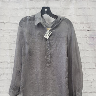 Primary Photo - BRAND: MICHAEL BY MICHAEL KORS STYLE: BLOUSE COLOR: SILVER SIZE: XL SKU: 115-115360-708