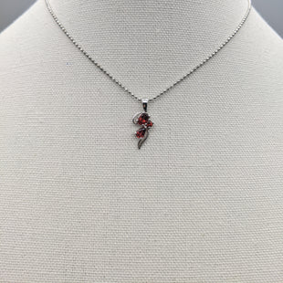 Primary Photo - BRAND: PARK LANE STYLE: NECKLACE COLOR: SILVER OTHER INFO: RED SKU: 115-115336-3125