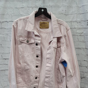 Primary Photo - BRAND:   CMC STYLE: BLAZER JACKET COLOR: PINK SIZE: XL OTHER INFO: CARBON - DENIM SKU: 115-115309-17894