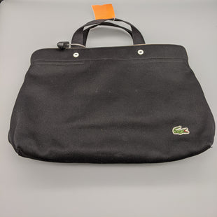 Primary Photo - BRAND: LACOSTE STYLE: HANDBAG COLOR: BLACK SIZE: MEDIUM SKU: 115-115309-19904SOME STAINS
