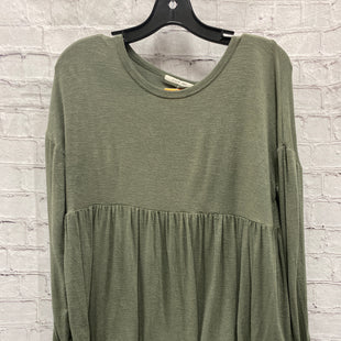 Primary Photo - BRAND:    CLOTHES MENTOR STYLE: TOP LONG SLEEVE COLOR: GREEN SIZE: L OTHER INFO: BYRON BAY - SKU: 115-115336-4969