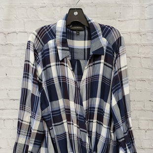 Primary Photo - BRAND: LANE BRYANT STYLE: TOP LONG SLEEVE COLOR: CHECKED SIZE: 3X SKU: 115-115360-1253