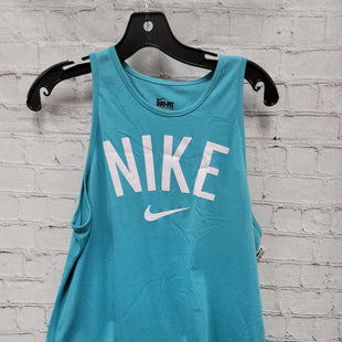 Primary Photo - BRAND: NIKE STYLE: ATHLETIC TANK TOP COLOR: BLUE SIZE: M SKU: 115-115314-10650