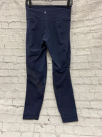 Photo #2 - BRAND: ATHLETA <BR>STYLE: ATHLETIC CAPRIS <BR>COLOR: NAVY <BR>SIZE: S <BR>SKU: 115-115347-1128