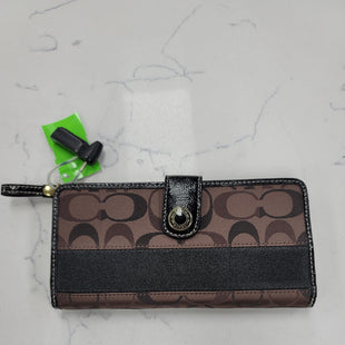 Primary Photo - BRAND: COACH STYLE: WALLET COLOR: BROWN SIZE: MEDIUM SKU: 115-115314-11852