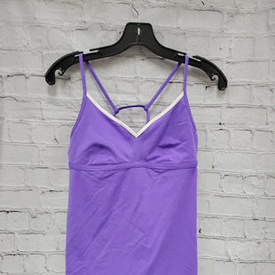 Primary Photo - BRAND: LULULEMON STYLE: ATHLETIC TANK TOP COLOR: PURPLE SIZE: 8 SKU: 115-115336-2466