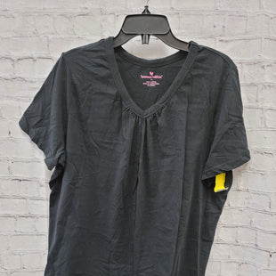 Primary Photo - BRAND: WOMAN WITHIN STYLE: TOP SHORT SLEEVE COLOR: BLACK SIZE: 1X SKU: 115-115340-3295