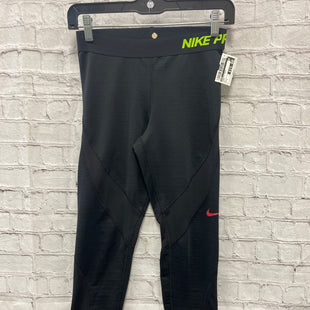 Primary Photo - BRAND: NIKE STYLE: ATHLETIC PANTS COLOR: BLACK SIZE: S SKU: 115-115302-18835