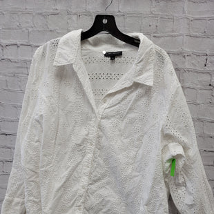 Primary Photo - BRAND: LANE BRYANT STYLE: TOP LONG SLEEVE COLOR: WHITE SIZE: 28 OTHER INFO: 4X SKU: 115-115347-3633