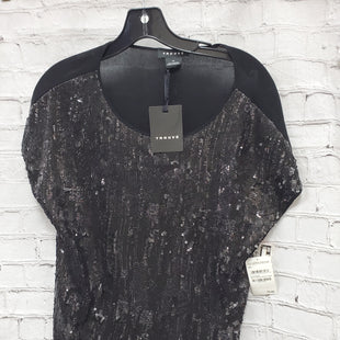 Primary Photo - BRAND: TROUVE STYLE: TOP SHORT SLEEVE COLOR: BLACK SIZE: XS OTHER INFO: NEW!   W/SEQUINS SKU: 115-11545-98464