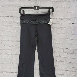 Primary Photo - BRAND: LULULEMON STYLE: ATHLETIC PANTS COLOR: BLACK SIZE: 2 SKU: 115-115338-2766MODERATE WEAR AND STYLE