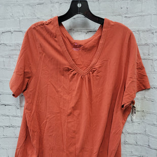 Primary Photo - BRAND: WOMAN WITHIN STYLE: TOP SHORT SLEEVE COLOR: ORANGE SIZE: 1X SKU: 115-115340-3293