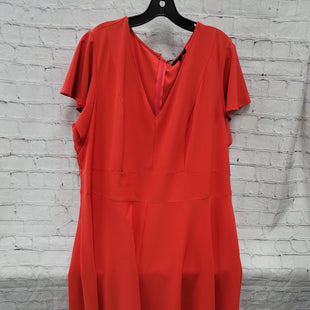 Primary Photo - BRAND: LANE BRYANT STYLE: DRESS LONG SHORT SLEEVE COLOR: RED SIZE: 3X SKU: 115-115360-2210