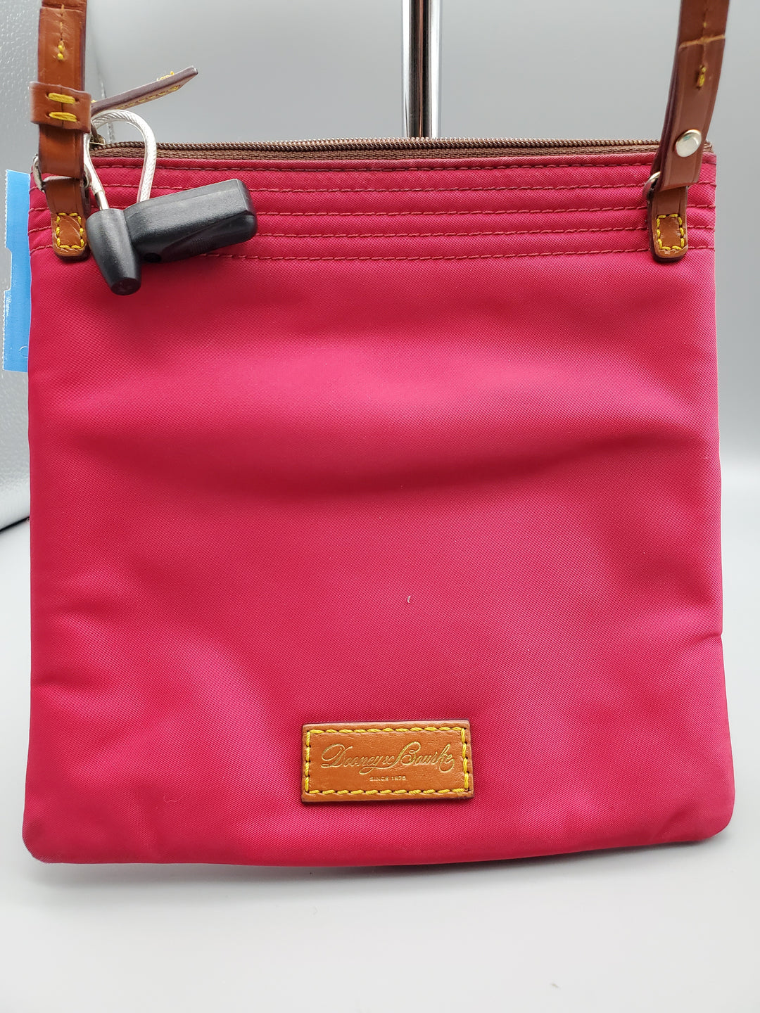 Photo #1 - BRAND: DOONEY AND BOURKE <BR>STYLE: HANDBAG <BR>COLOR: RASPBERRY <BR>SIZE: SMALL <BR>OTHER INFO: ** <BR>SKU: 115-115347-2018