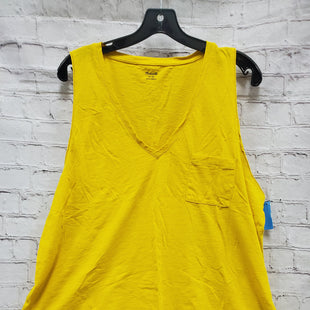 Primary Photo - BRAND: MADEWELL STYLE: TOP SLEEVELESS COLOR: MUSTARD SIZE: 2X SKU: 115-115302-16621
