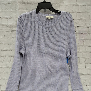 Primary Photo - BRAND: LOFT STYLE: SWEATER LIGHTWEIGHT COLOR: LAVENDER SIZE: XL SKU: 115-115314-8366MILD WEAR THROUGHOUT