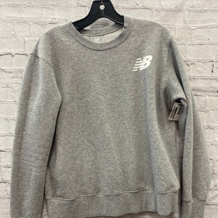 Primary Photo - BRAND: NEW BALANCE STYLE: ATHLETIC TOP COLOR: GREY SIZE: L SKU: 115-115338-3768