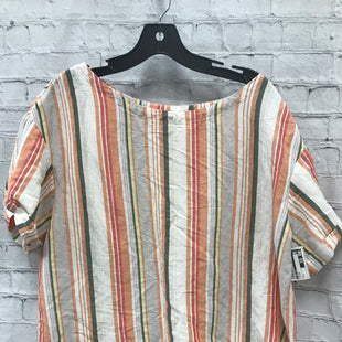 Primary Photo - BRAND: A NEW DAY STYLE: TOP SHORT SLEEVE COLOR: STRIPED SIZE: L SKU: 115-115314-9717