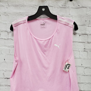 Primary Photo - BRAND: PUMA STYLE: ATHLETIC TANK TOP COLOR: PINK SIZE: XL SKU: 115-115338-1054