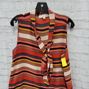 Primary Photo - BRAND: ANN TAYLOR LOFT STYLE: TOP SLEEVELESS COLOR: STRIPED SIZE: L SKU: 115-115314-7805