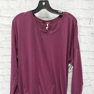 Primary Photo - BRAND: LUCY STYLE: ATHLETIC TOP COLOR: PLUM SIZE: L SKU: 115-115347-3527