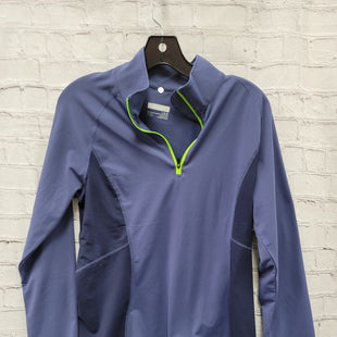 Primary Photo - BRAND: MARMOT STYLE: ATHLETIC TOP COLOR: BLUE SIZE: L SKU: 115-115314-11553