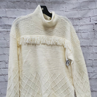 Primary Photo - BRAND: SONOMA STYLE: SWEATER LIGHTWEIGHT COLOR: WHITE SIZE: L SKU: 115-115340-3650