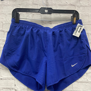 Primary Photo - BRAND: NIKE STYLE: ATHLETIC SHORTS COLOR: BLUE SIZE: M SKU: 115-115314-11774