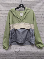 Primary Photo - BRAND:    CLOTHES MENTOR <BR>STYLE: JACKET OUTDOOR <BR>COLOR: MULTI <BR>SIZE: S <BR>OTHER INFO: THREAD & SUPPLY - **GREEN CREAM BLUE <BR>SKU: 115-115260-93935