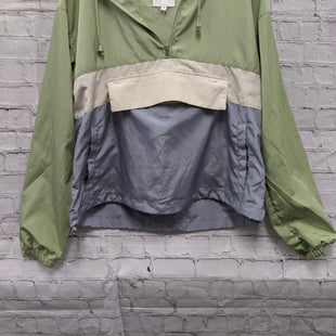 Primary Photo - BRAND:    CLOTHES MENTOR STYLE: JACKET OUTDOOR COLOR: MULTI SIZE: S OTHER INFO: THREAD & SUPPLY - **GREEN CREAM BLUE SKU: 115-115260-93935