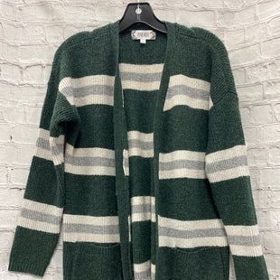 Primary Photo - BRAND: PINK ROSE STYLE: SWEATER CARDIGAN LIGHTWEIGHT COLOR: GREEN SIZE: L OTHER INFO: GREY SKU: 115-115340-2841