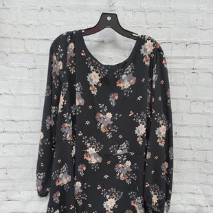 Primary Photo - BRAND: ANN TAYLOR LOFT STYLE: DRESS SHORT LONG SLEEVE COLOR: BLACK SIZE: 3X OTHER INFO: DUSTY PINK SKU: 115-115309-21359
