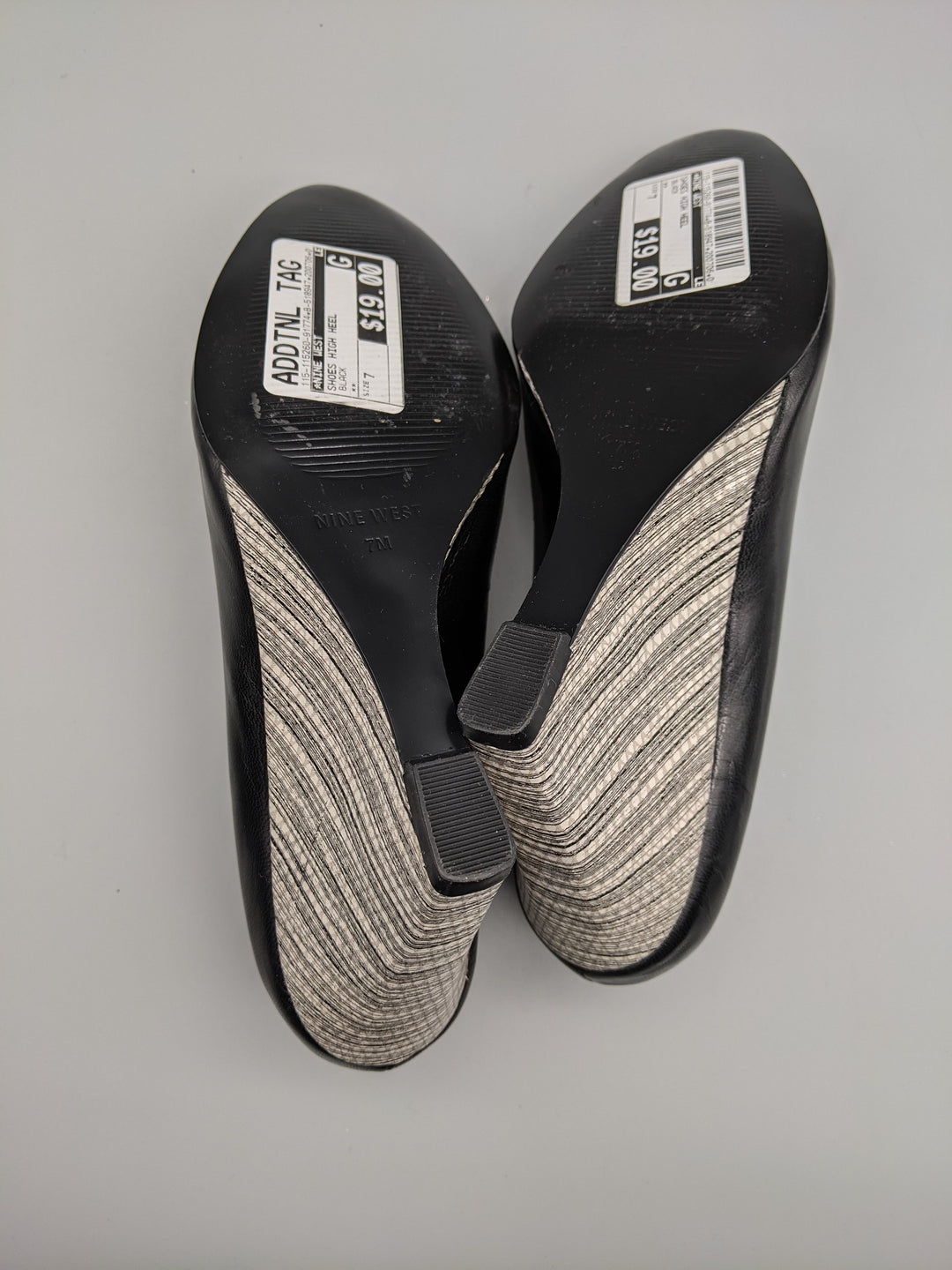 Photo #3 - BRAND: NINE WEST <BR>STYLE: SHOES HIGH HEEL <BR>COLOR: BLACK <BR>SIZE: 7 <BR>OTHER INFO: ** <BR>SKU: 115-115260-91774