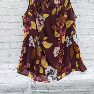 Primary Photo - BRAND: CJ BANKS STYLE: TOP SLEEVELESS COLOR: MAROON SIZE: 2X OTHER INFO: FLORAL SKU: 115-115340-2312