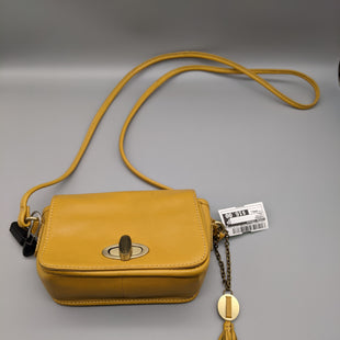 Primary Photo - BRAND: CROWN VINTAGE STYLE: HANDBAG COLOR: MUSTARD SIZE: SMALL SKU: 115-115347-3626
