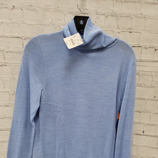 Primary Photo - BRAND: J CREW STYLE: SWEATER LIGHTWEIGHT COLOR: LIGHT BLUE SIZE: S SKU: 115-115338-4117