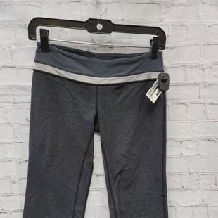 Primary Photo - BRAND: LULULEMON STYLE: ATHLETIC CAPRIS COLOR: GREY SIZE: 4 SKU: 115-115314-9194